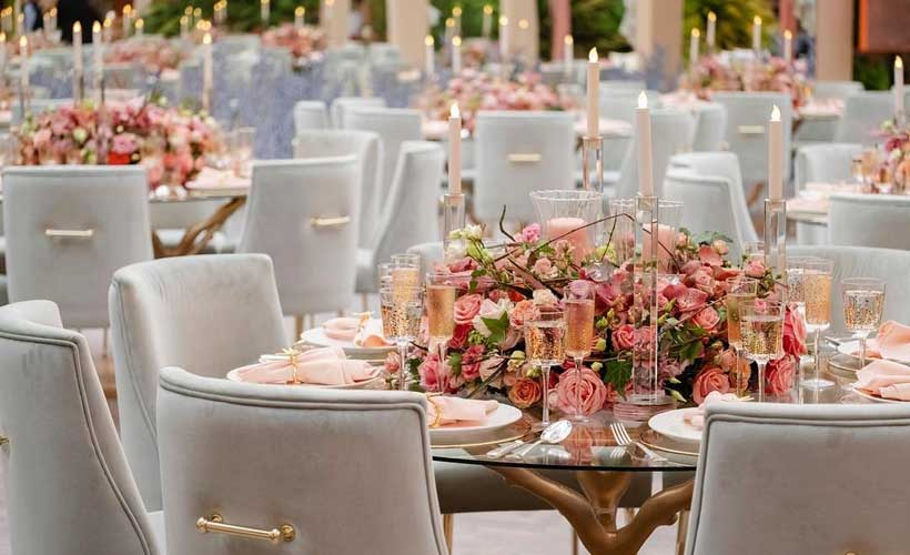 Wedding Table Design by BOLTE Luxury Event Design and Wedding Planner