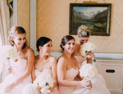 Destination Wedding Planner Group Photo of bride with bridesmaids