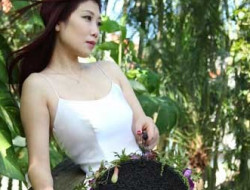 asian bride in jungle planned by Destination Wedding Planner