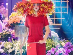 Chinese Party with models and flowers by Bolte luxury event design