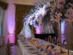 Luxury private party planner in dubai- dinner table decoration