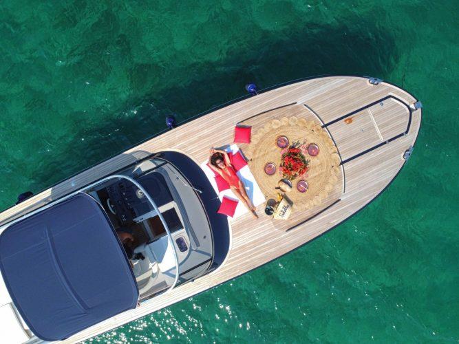 Sport Yacht Ithaka 45 S, Costa Smeralda, Picknick, luxury