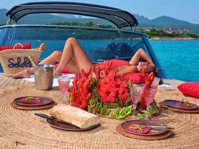 Solo Blu, Yacht, Costa Smeralda, Timo Bolte Luxury Event Design, Beach, Sardinia