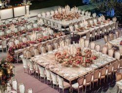 Lebanese destination wedding planner, garden wedding