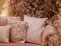 soft pink photo corner with gypso from dubai party planner