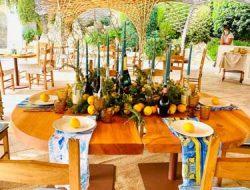 Wedding Brunch Set up in Poltu Quatu from wedding planner in sardinia